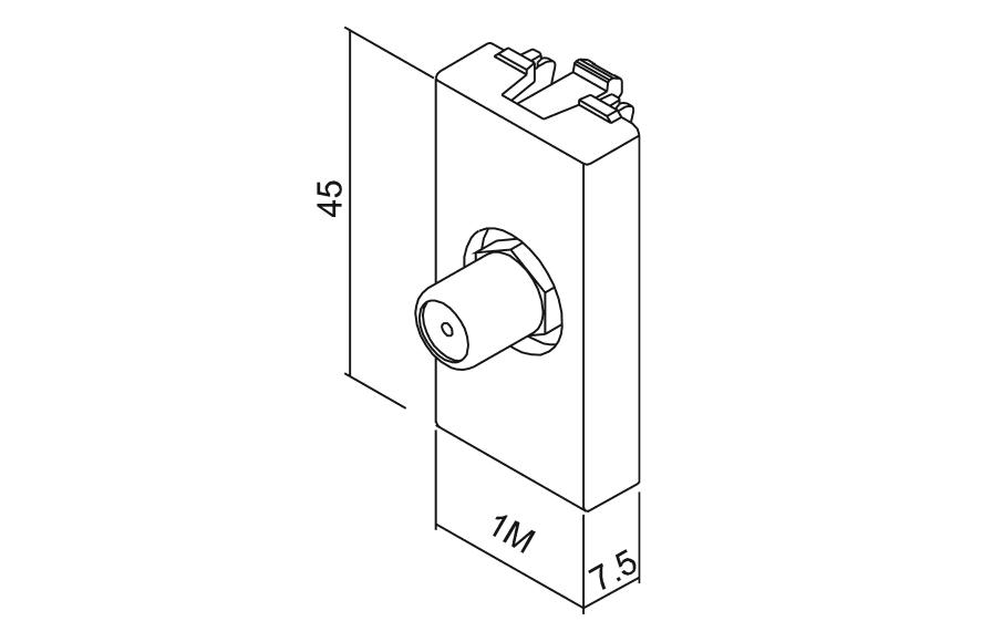 coaxial socket