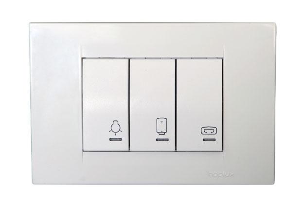 Bathroom Switch, Light, Heater, Water Heater 3M
